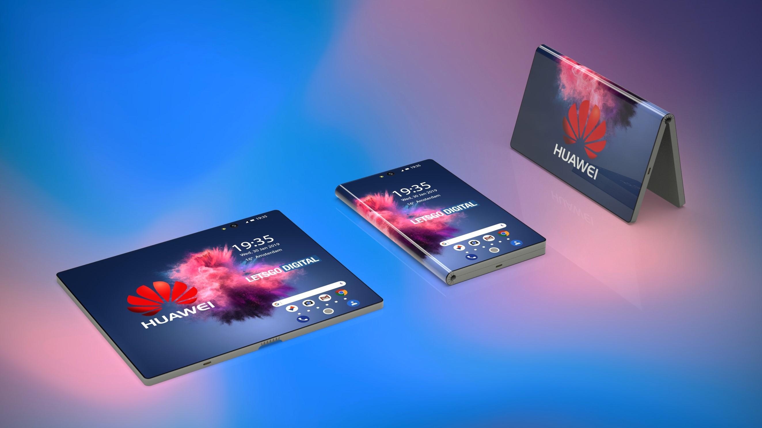 Les caractéristiques du Huawei Mate X Foldable