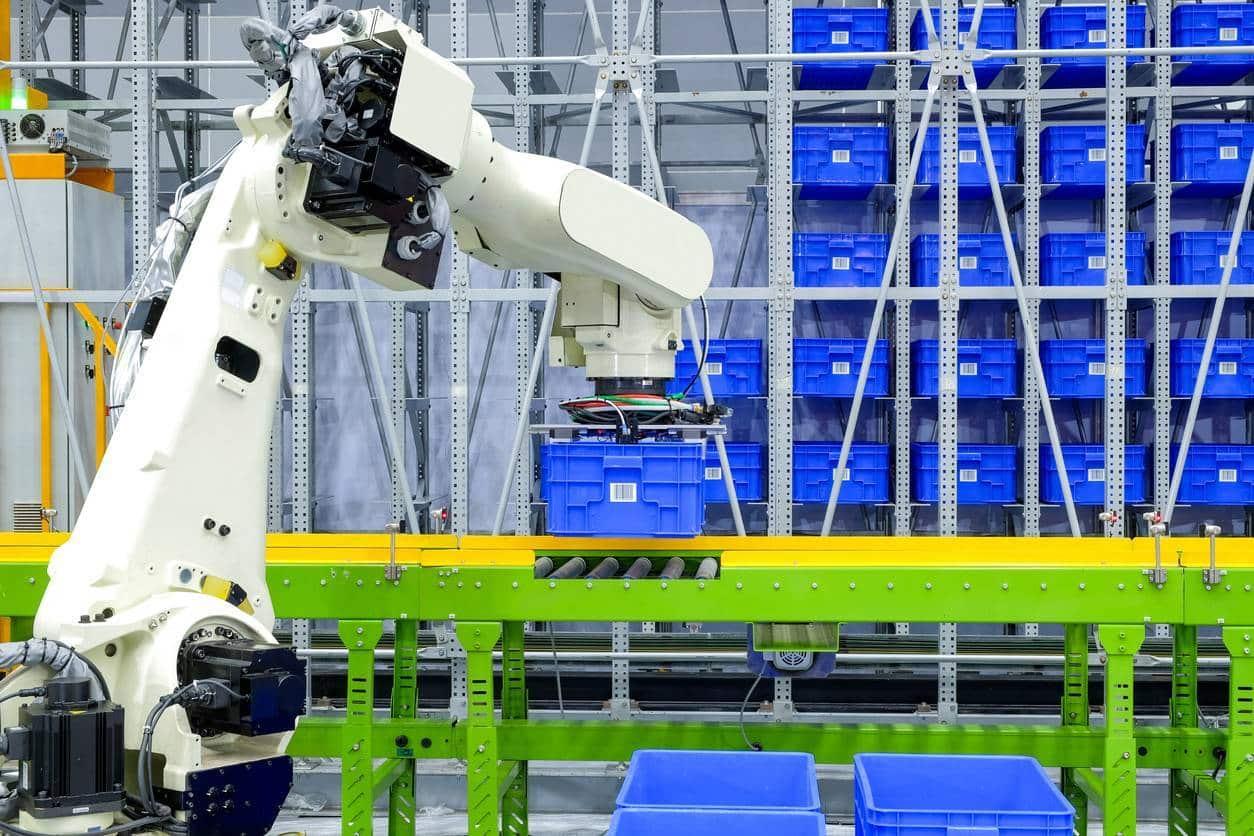 robotique système entraînement